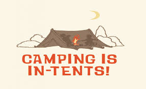 camping is intents